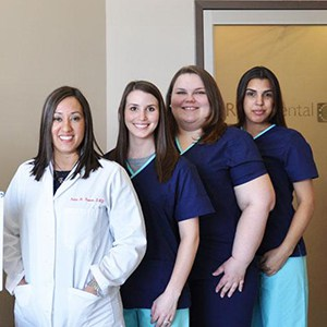 dental team at R & R Dental Hicksville NY